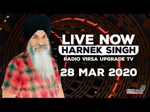🔥LIVE FROM RADIO VIRSA UPGRADE TV STUDIO 🔥28 March 2020   Harnek Singh Newzealand