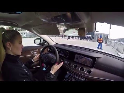 2017 Mercedes-Benz New E-class Drive Pilot Safety Test POV