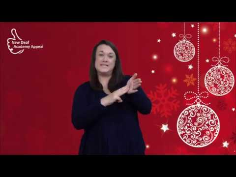 Learn to sign 'Mince Pie' - Deaf Academy Alternative Advent Day 3