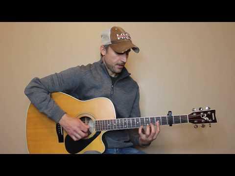 Fear Is A Liar - Zach Williams - Guitar Lesson | Tutorial