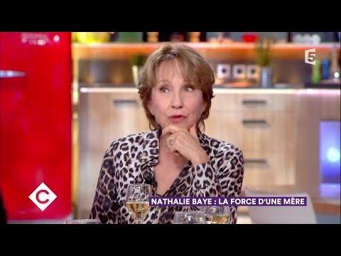 Nathalie Baye au dîner  C à Vous  30112017