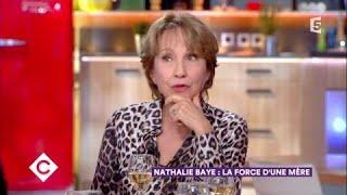 Nathalie Baye au dîner - C à Vous - 30/11/2017