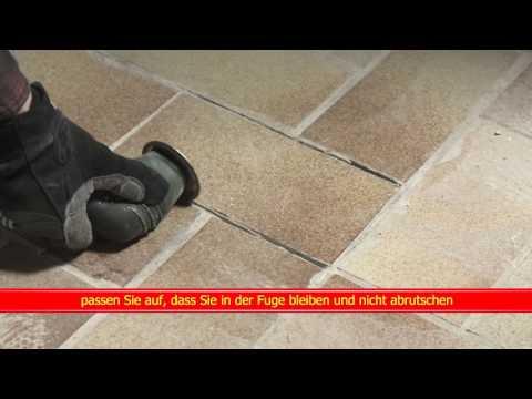 Video Kurzfilm Fliesenfugensäge