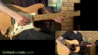 Santana - Put Your Lights On Guitar Cover