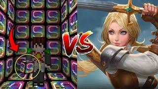 เปิดลัคกี้บล็อควิดิโอเกมส์สุดโหด!! ปะทะกับ Butterfly จากเกมส์ Rov สุดเทพ!? (Minecraft Lucky Block)