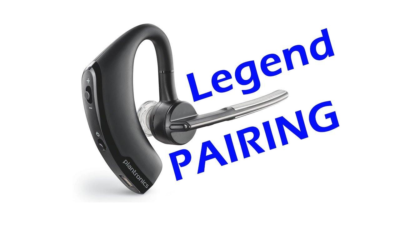 How To Pair Plantronics Voyager Legend Uc Bluetooth Headset Youtube
