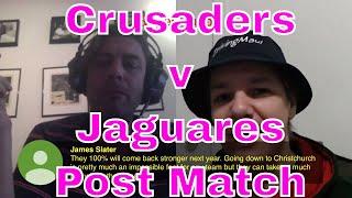 Crusaders v Jaguares Super Rugby Final Post Match Reaction