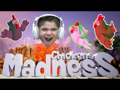 Chickens Madness PC Party Game by HobbyKidsGaming
