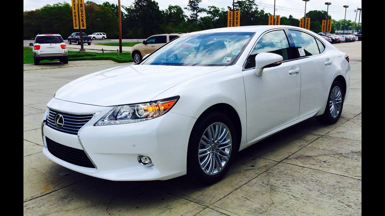 2014 Lexus ES 350 Exhaust, Start Up And In Depth Review   YouTube