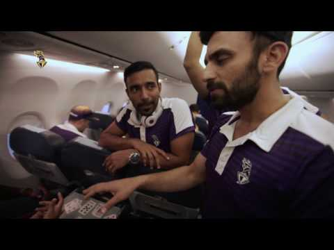 Travelling with Kolkata Knight Riders | Inside KKR | VIVO IPL 2017