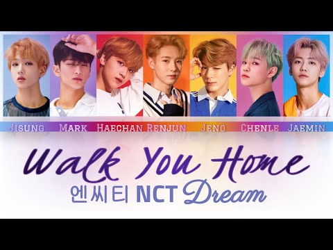 NCT DREAM - Walk You Home Lyrics (Color Coded Han/Rom/Eng)