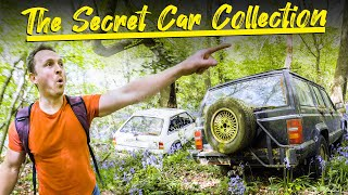 Exploring A Secret Car Collection In The Woods
