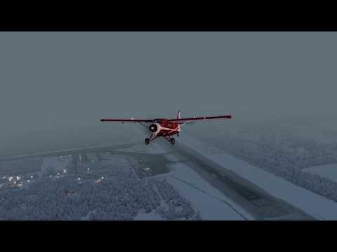 Prepar3D V4.2 - Milviz DHC-3 - PAGS to PAYA (Alaska) - 4K