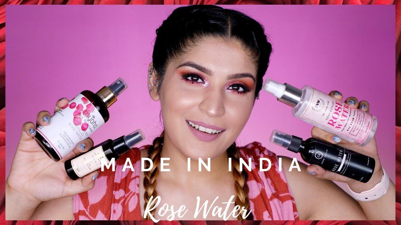 Best Made In India Rose Water | Mini Reviews | Shreya Jain