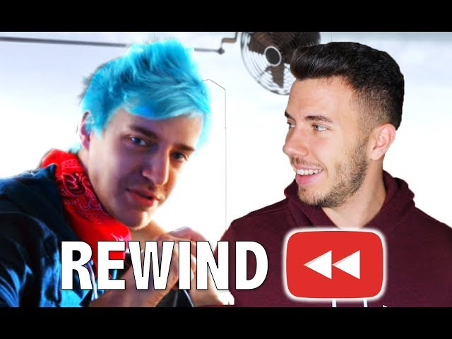 NINJA KÉK HAJA... - YouTube Rewind 2018