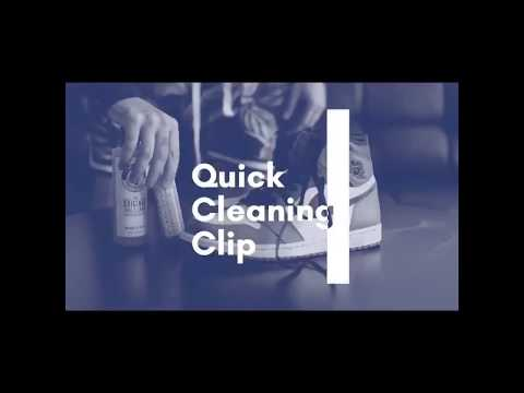 Best Way to Clean Your Shoes - Pink Miracle Quick Cleaning Clip