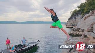 Ranger 212LS On Water Footage