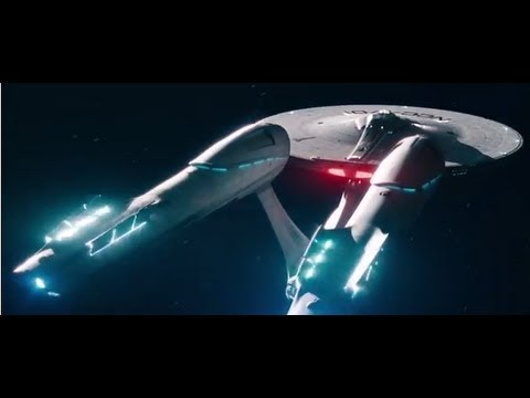 Why Is My Wallpaper Falling Off Star Trek Into Darkness Opening Enterprise Take Off Scene