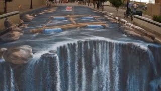 3D drawings on the pavement - selection of the best # 1