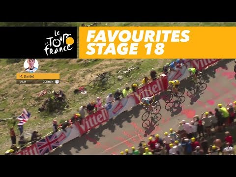 Finish of the favourites - Stage 18 - Tour de France 2017