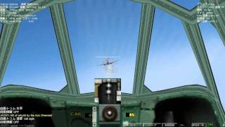 A6M2 Zero attacking Ju 88 - WarBirds Enhanced Graphics Beta
