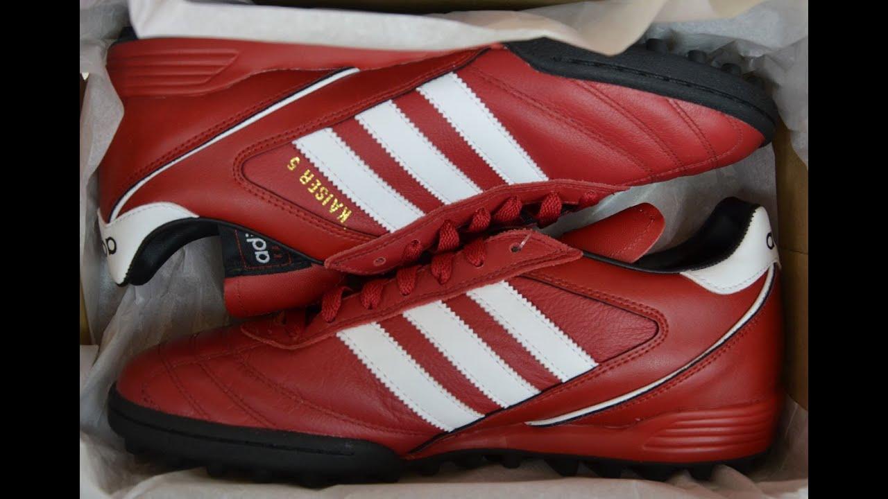 42023befef888b Adidas Kaiser 5 Team rot - YouTube