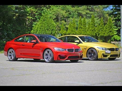 BMW M4 F82 stock vs M4 tuned