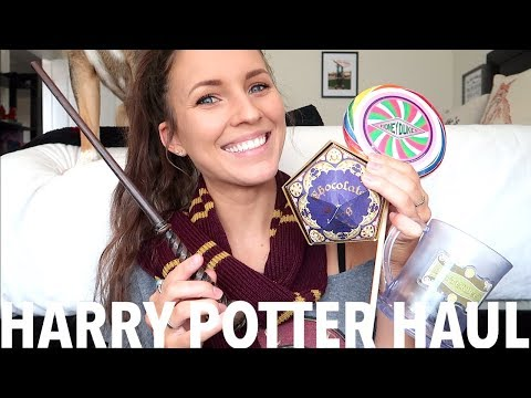 WIZARDING WORLD OF HARRY POTTER HAUL