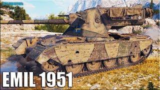 Новый прем танк EMIL 1951 ✅ World of Tanks лучший бой