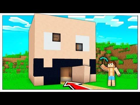 LUCA HA COSTRUITO LA CASA SEGRETA DI SPJOCKEY! - Minecraft ITA