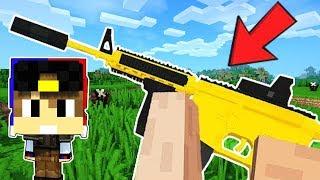 НАСТОЯЩАЯ КОНТРА В МАЙНКРАФТ ПЕ Мод на Оружие и КС ГО Обзор на моды в Minecraft Видео и защита нуба