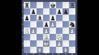 Kramnik - Leko 14. einvígisskákin frá árinu 2004