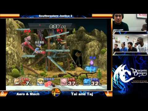 Southwestern Justice 2 Aero & Mach vs Tai & Taj