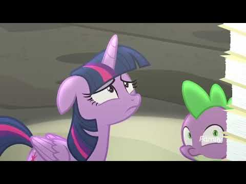 My little pony - twilight talking to the EEA