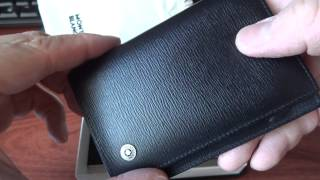 REVIEW on MONTBLANC Leather Goods 4818 Westside Business Card Holder
