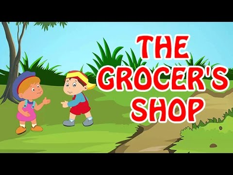 The Grocer's Shop | Animated Nursery Rhyme in English