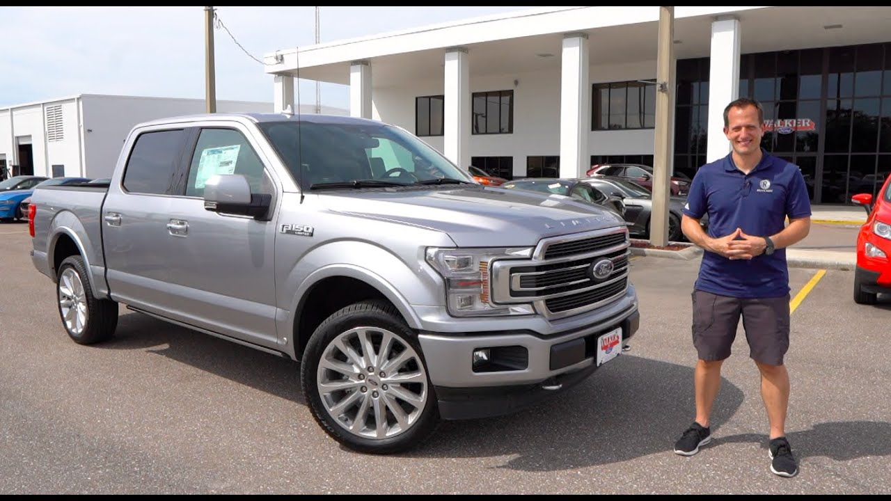 Is The 2020 Ford F 150 Limited The Best Full Size Luxury Truck You Can Buy Youtube