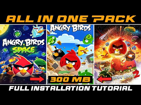 [300MB] Download Angry Birds All Games | 7 Games In 1 File | For PC | Mediafire Link | AM Gaming