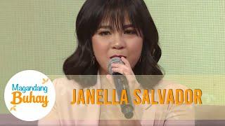 Janella gets emotional while describing Maja | Magandang Buhay