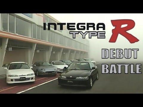 [ENG CC] Integra Type R Debut Battle - DC2, DB8, RX-7, FTO, Silvia S14, MR-2, Impreza Tsukuba 1995