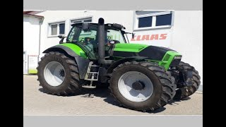 Deutz Fahr Agrotron X 720 tractor and other equipment at BELAGRO-2019.