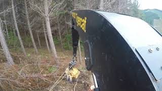 Tigercat LS 855c winch assist