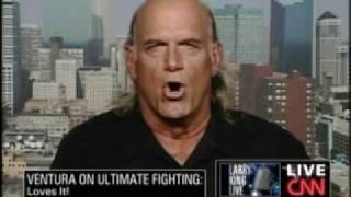 Jesse Ventura talks about the UFC