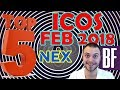 ⭐️ Top 5 Cryptocurrency ICOs: February 2018 🤑