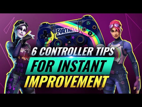 6 GAME CHANGING Tips For Controller Players! - Fortnite Battle Royale