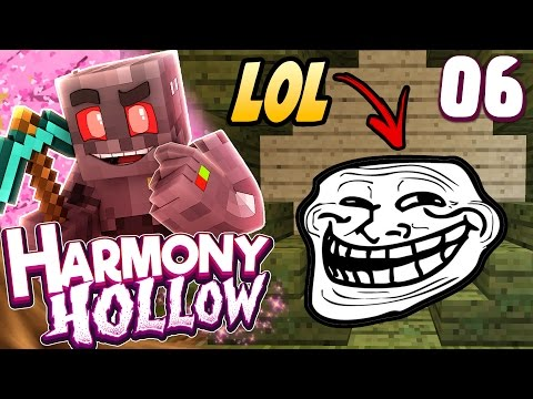 Minecraft Harmony Hollow Modded SMP Episode 6: First Prank