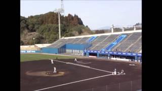 2016年3月3日、宮崎で行われたソフトバンクホークス2軍の練習試合で松...