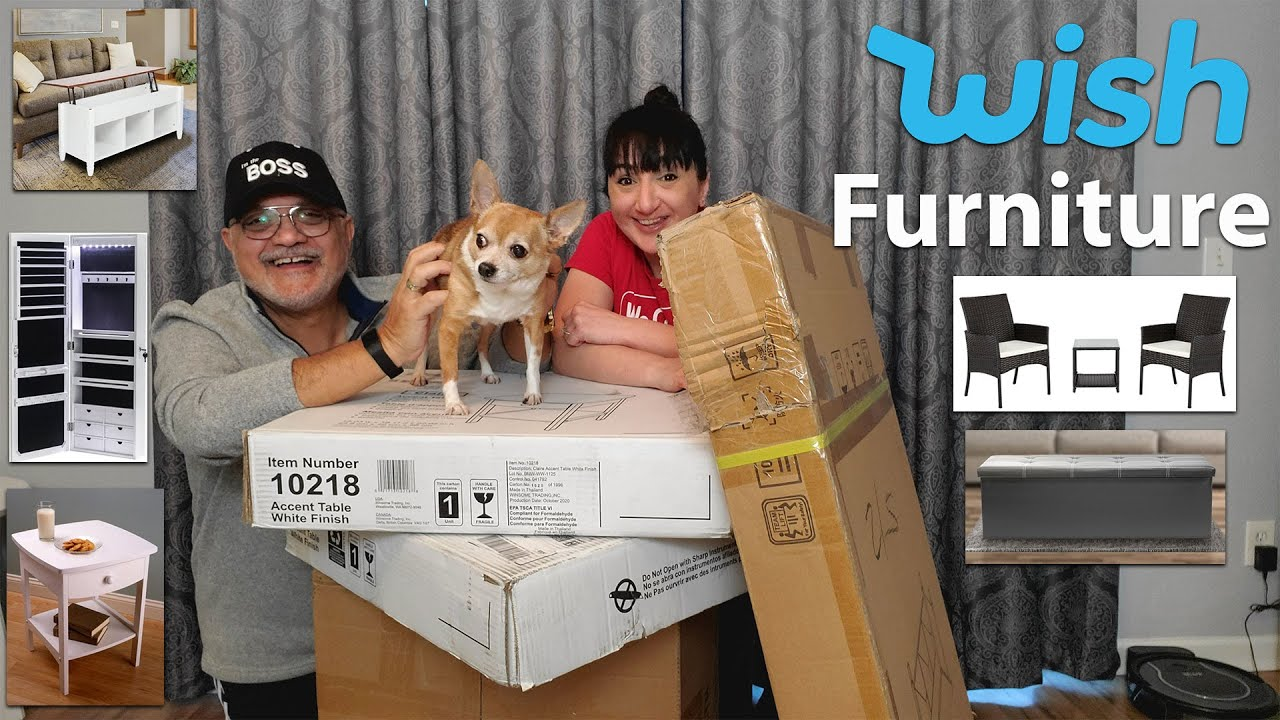 Testing Out WISH Furniture | My Most Expensive Haul | House Transformation