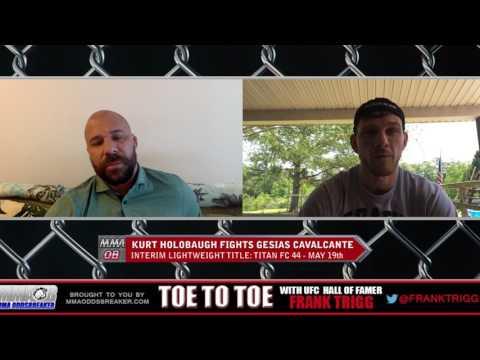 Frank Trigg Interviews Titan FC 44's Kurt Holobaugh
