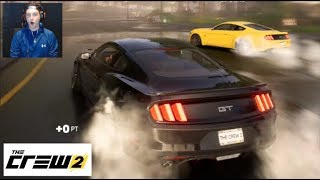 The Crew 2 - FIRST ONLINE DRIFT EVENT!! MUSTANG Tandems!!  (Face Cam)